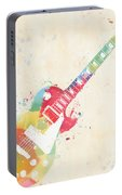 Colorful Les Paul Portable Battery Charger