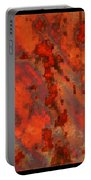 Colorful Metal Abstract With Border Portable Battery Charger