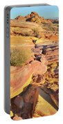 Colorful Morning At Valley Of Fire Portable Battery Charger