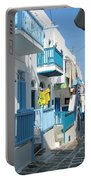 Colorful Mykonos Portable Battery Charger