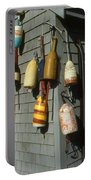 Colorful New England Buoys Portable Battery Charger