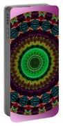 Colorful No. 4 Mandala Portable Battery Charger