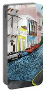 Colorful Old San Juan Portable Battery Charger