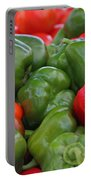 Colorful Peppers Portable Battery Charger