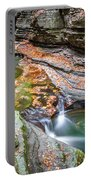 Colorful Pool In The Gorge Of Watkins Glen Portable Battery Charger