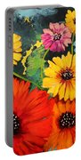 Colorful Poppy Warm No.1 Portable Battery Charger