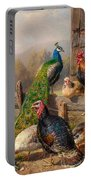 Colorful Poultry Portable Battery Charger