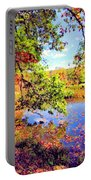 Colorful Reflections Portable Battery Charger