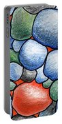 Colorful Rock Abstract Portable Battery Charger