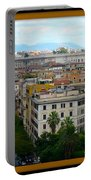 Colorful Rome Cityscape Portable Battery Charger