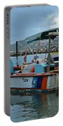 Colorful Saint Martin Power Boat Caribbean Portable Battery Charger