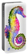 Colorful Seahorse Portable Battery Charger