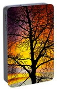 Colorful Silhouette Portable Battery Charger