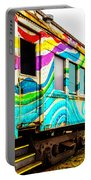 Colorful Skunk Train Passenger Car Portable Battery Charger