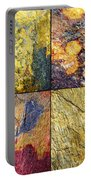 Colorful Slate Tile Abstract Composite Sq1 Portable Battery Charger
