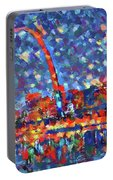 Colorful St Louis Skyline Portable Battery Charger
