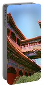 Colorful Temple Walkway Portable Battery Charger
