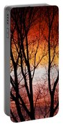 Colorful Tree Branches Portable Battery Charger