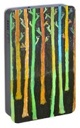 Colorful Trees Portable Battery Charger
