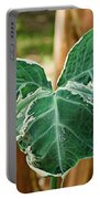 Colorful Tropical Foliage 1 Portable Battery Charger