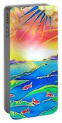 Colorful Tropics 12 Portable Battery Charger