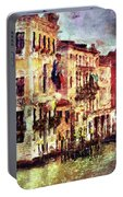 Colorful Venice Canal Portable Battery Charger
