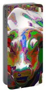 Colorful Wall Street Bull Portable Battery Charger