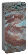 Colorful Wash 2 Of Valley Of Fire Portable Battery Charger