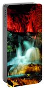 Colorful Waterfall Portable Battery Charger