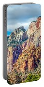 Colorful Zion Canyon National Park Utah Portable Battery Charger