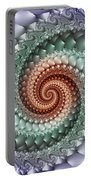 Colors Of A Spiral Portable Battery Charger