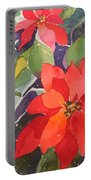 Colors Of Christmas Portable Battery Charger