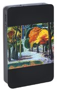 Colors Of Fall Portable Battery Charger