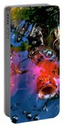 Colors Of Koi Portable Battery Charger