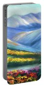 Colors Of The Mountains 2 Portable Battery Charger
