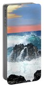 Colors Of The Ocean Portable Battery Charger