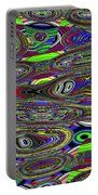 Colors Rolled And Flattened Abstract Portable Battery Charger
