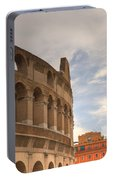Colosseum In The Historic Centre Of Rome Portable Battery Charger
