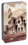 Colosseum Toned Sepia Portable Battery Charger