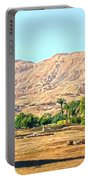 Colossi Of Memnon Portable Battery Charger