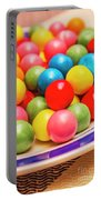 Colourful Bubblegum Candy Balls Portable Battery Charger