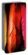Colourful Feather Art Portable Battery Charger