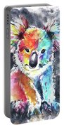 Colourful Koala Portable Battery Charger