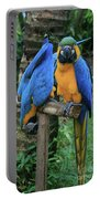 Colourful Macaw Pohakumoa Maui Hawaii Portable Battery Charger