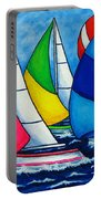 Colourful Regatta Portable Battery Charger