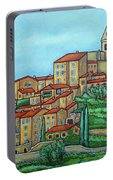 Colours Of Crillon-le-brave, Provence Portable Battery Charger