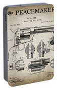 Colt .45 Peacemaker Revolver Patent  1875 Portable Battery Charger