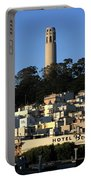 Colt Tower, San Francisco, California Portable Battery Charger