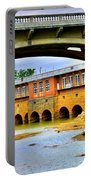 Columbia Canal At Gervais Street Bridge Portable Battery Charger by Lisa Wooten