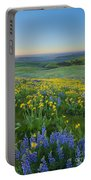 Columbia Hills Wildflower Dawn Portable Battery Charger